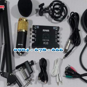 Combo Soind Card k10 với bm800