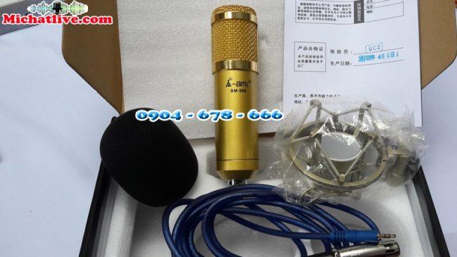 Míc thu âm AMI BM900 chính hãng-a1
