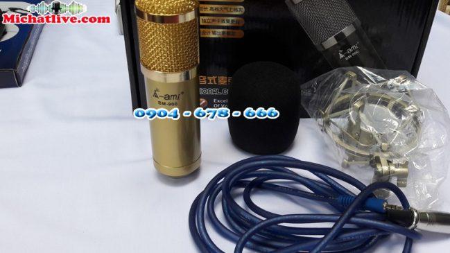Míc thu âm AMI BM900 chính hãng-a2