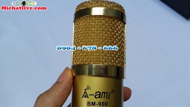 Míc thu âm AMI BM900 chính hãng-a6