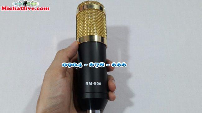 Micro thu âm giá rẻ BM800