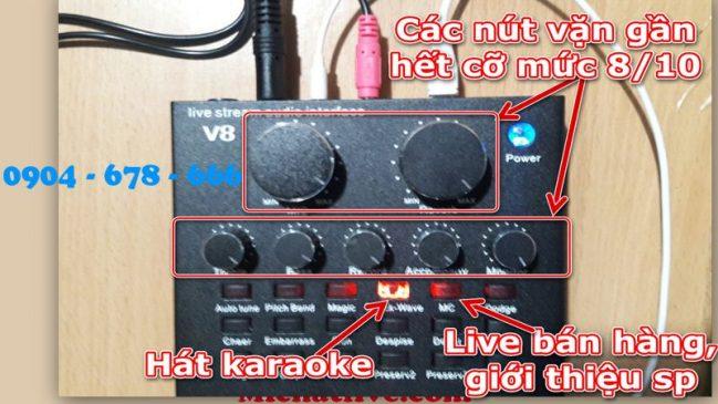 Hướng dẫn sử dụng sound card v8-anh5