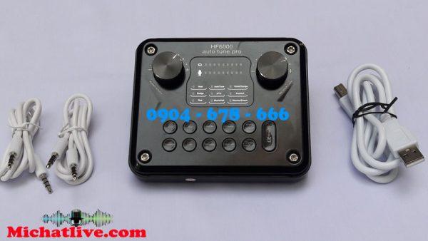 sound card HF-6000 Pro