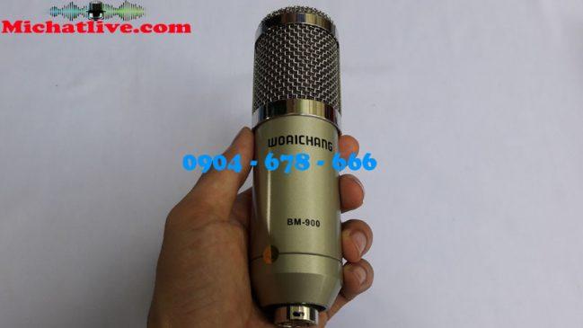 Bộ hát live stream Sound Card V8 - Míc BM900 ( ảnh 2 )