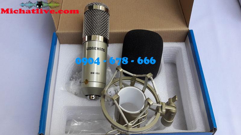 Mic thu âm BM 900 Woaichang