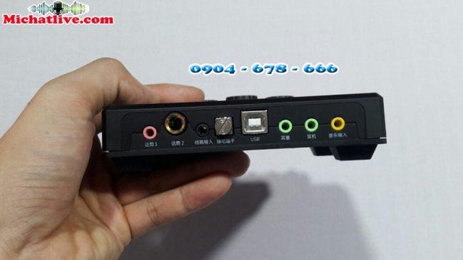 XOX KX2 cổng kết nối
