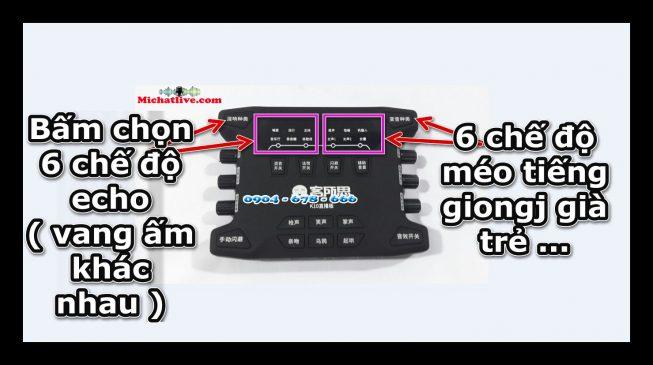 Hướng dẫn sử dụng sound card k10 2018 -a1