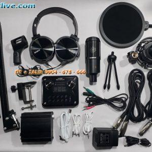 bộ hát live stream micro PC K320