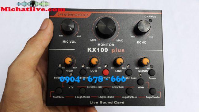 Sound card live stream KX109