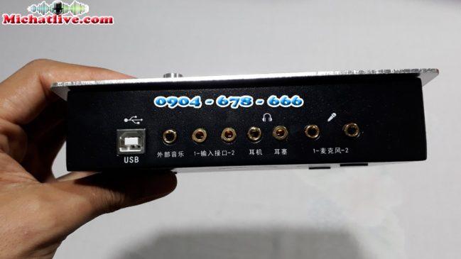 Sound Card HF5000 Pro cổng kết nối
