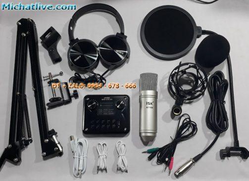 mic hát livestream ISK AT100 tại Hải Phòng