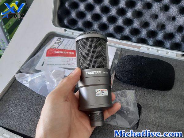 Micro livestream SM 8B