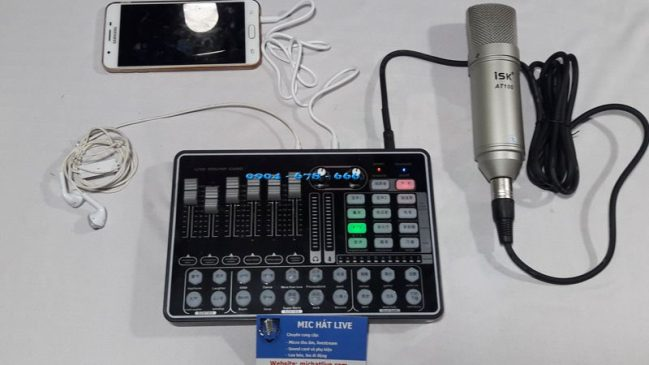 Sử dụng Sound card H9 Bluetooth