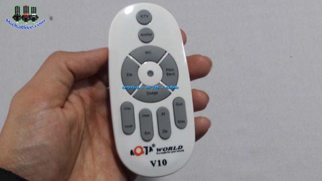 Điều khiển Sound Card livestream V10