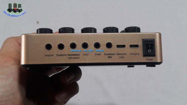 Sound Card V10 cổng kết thiết bị