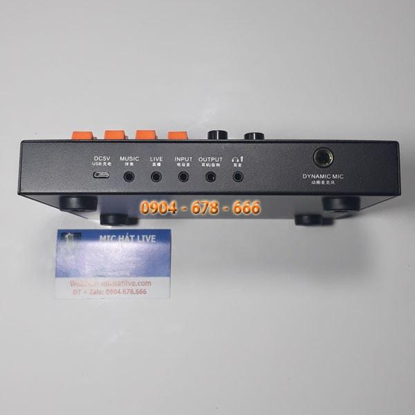 Sound Card V11 các kết nối