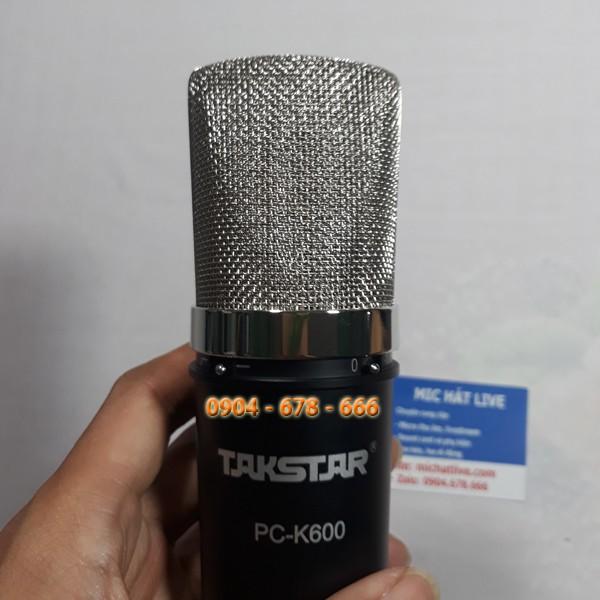 Takstar PC K600 lọc âm tốt