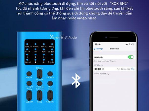 Sound card XOX BH2 bluettoth