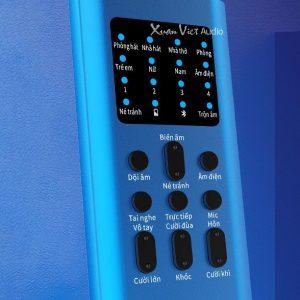 Sound card XOX BH2 bản màu xanh