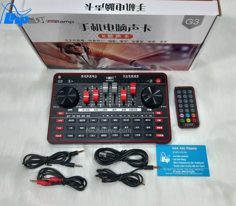 Sound card G3