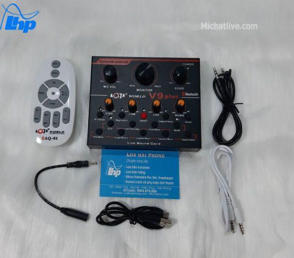Sound card V9 Plus