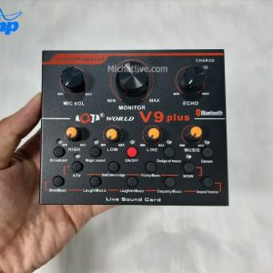 Sound card live V9 Plus
