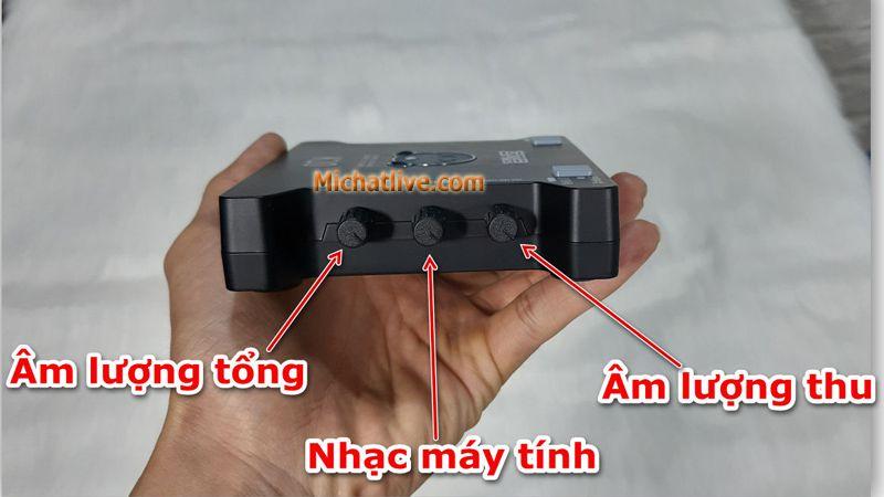 Cách chinh sound card K10 - a2