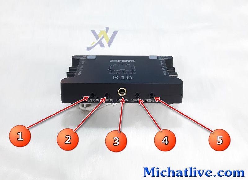cách lắp sound card k10-a1