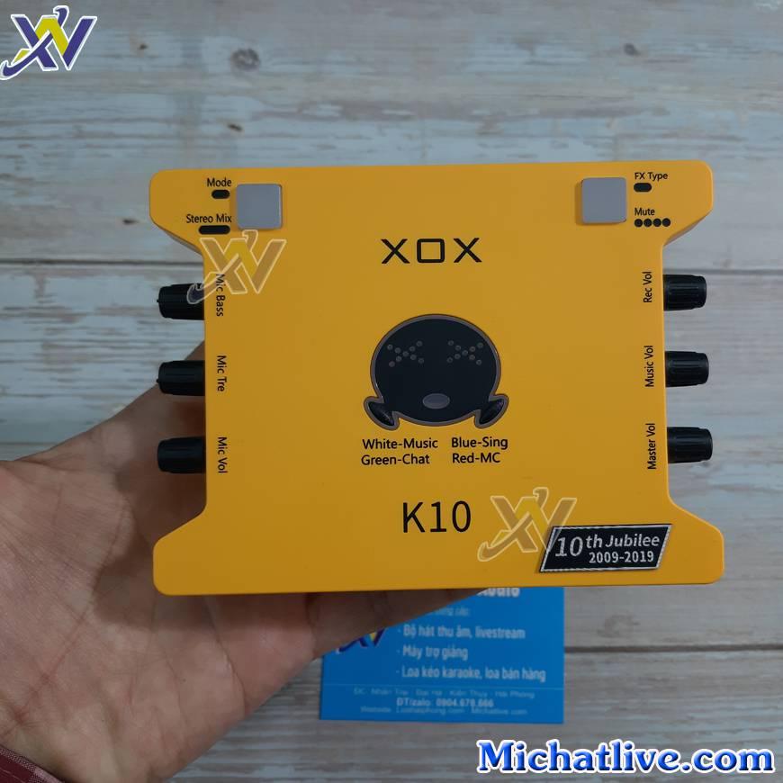 sound card k10 2020