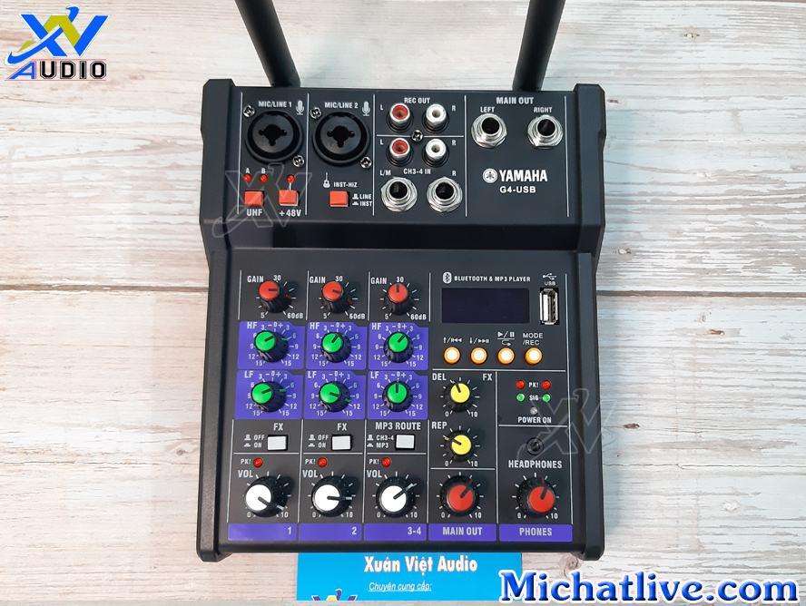 sử dụng mixer g4 usb