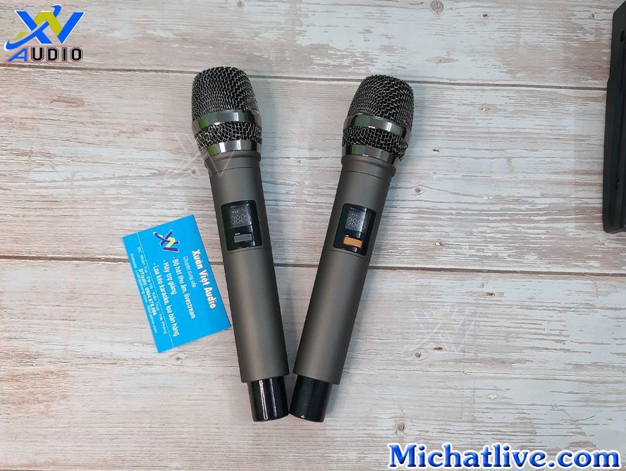 bo mic không dây g4 usb