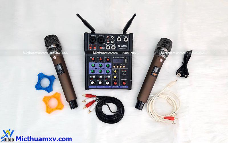 Bộ mixer yamaha g4 usb